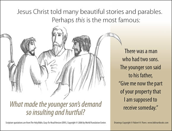 The Father's Love Gospel Booklet in the language of honor and shame, p2