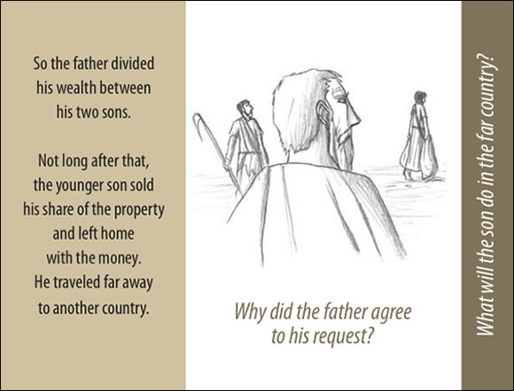 The Father's Love Gospel Booklet in the language of honor and shame, p3